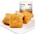 [中国直邮]百草味 BE&CHEERY 鲜弹鱼豆腐185g 四川网红街头小吃 烧烤味 1袋装