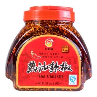 川味知 热油辣椒 700g