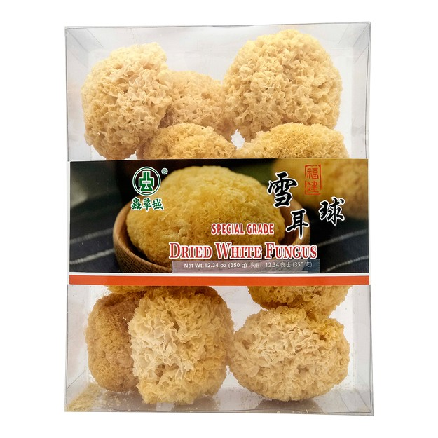 CHUNG CHOU CITY Dried White Fungus 350g