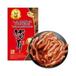 L.A.HOT DUCK Pork Ears Vacuum Packed Snack 400g