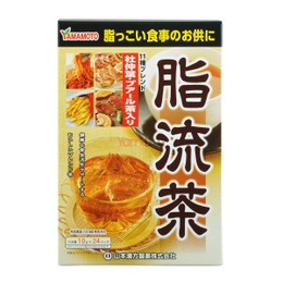 YAMAMOTO Mixed Herbal Fat Flow Diet Tea (10g*24 Bags)