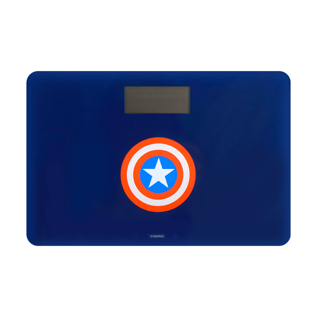 Product Detail - Miniso Marvel Bathroom Body Weight Measurement Scale  #Blue- Captain America - image 0