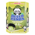 MEIJI Hello Panda Biscuit with Matcha Green Tea Filling 258g