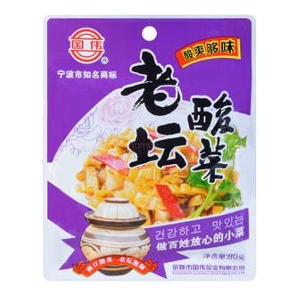 国伟食品 老坛酸菜 80g