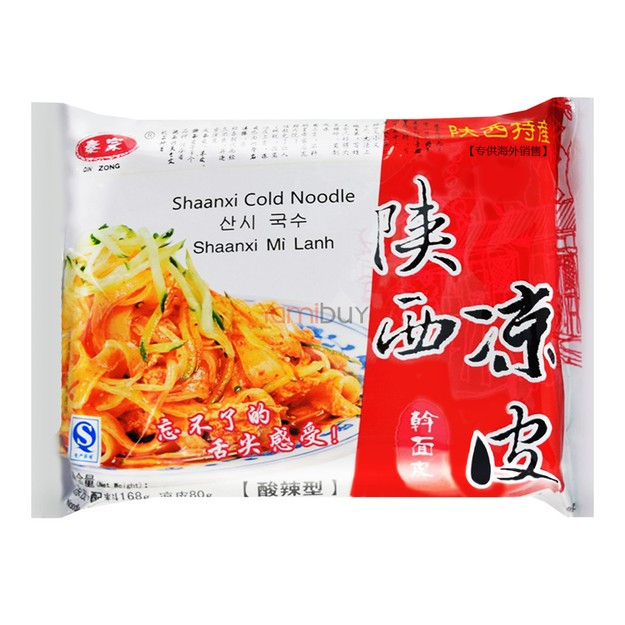 Product Detail - QINZONG Shanxi Cold Noodle Hot 168g - image 0