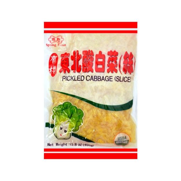 商品详情 - 绿野 有机东北酸白菜丝 450g USDA认证 - image  0