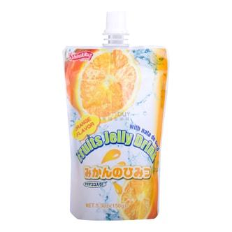 日本SHIRAKIKU赞岐屋 果冻爽椰果粒 香橙味 150g