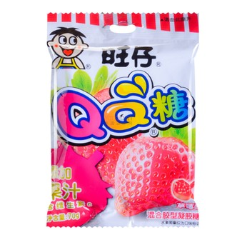 WANT WANT QQ Soft Candy Strawberry Flavor 70g