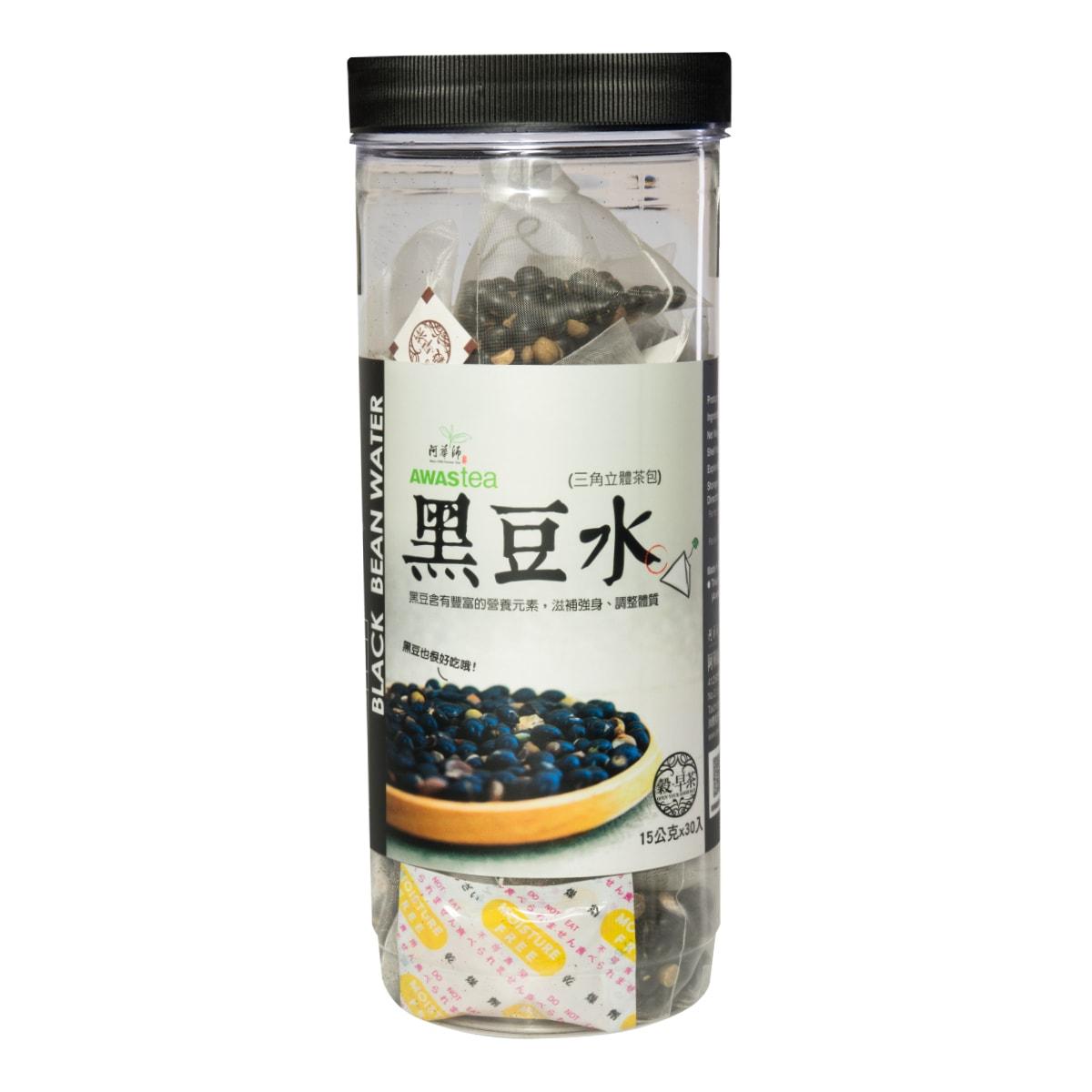 台湾阿华师 黑豆水 30袋入 450g 怎么样 - 亚米网