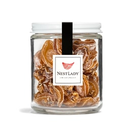 NESTLADY Premium Dried Abalone - All Natural Gluten Free Wild Caught Gourmet Dried Seafood for Cooking -  100g Jar