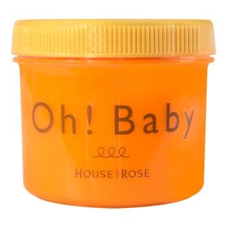 日本HOUSE OF ROSE OH!BABY 身体去角质磨砂膏 柑橘生姜香 350g 2018限定款 范冰冰推荐