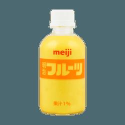 【尝味期限 12/3/2020】日本MEIJI明治 综合芒果乳饮料 果汁1% 220ml