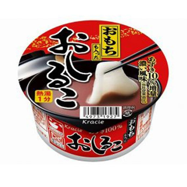 Product Detail - KRACIE Red Beans Ricecake Soup 3 Cups - image 0