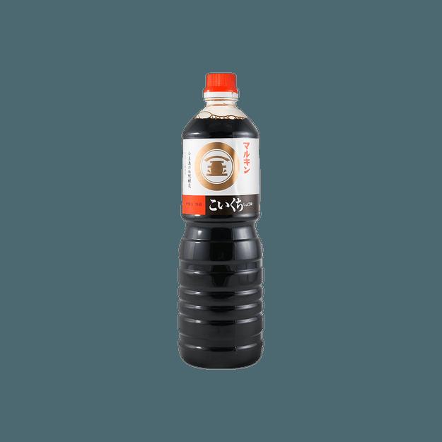 商品详情 - 丸金 浓口酿造酱油日式照烧饭调味汁 1L - image  0