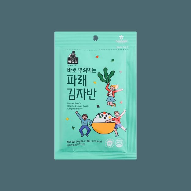 商品详情 - 韩国Master Hee\'s 朴香姬 海苔酥 原味 20g 儿童拌饭佳品 - image  0