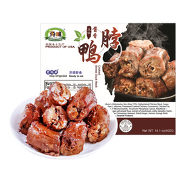 CHUNWEI KITCHEN Cooked Sweet Brined Duck Neck 400g USDA Certified