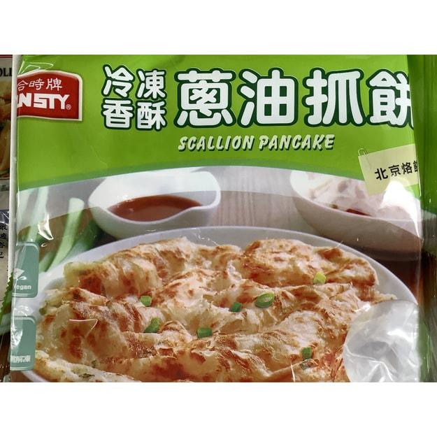 商品详情 - 合时葱油抓饼5片/盒 - image  0
