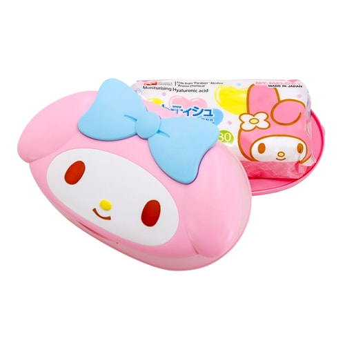 LEC My Melody Wet Wipes with case (80 sheets)