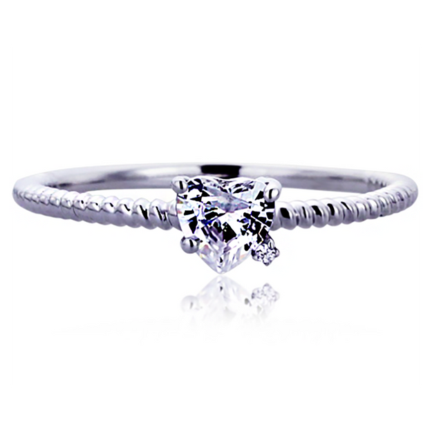 Product Detail - JDREY 14K Heart Promise Ring 1 Piece - image 0
