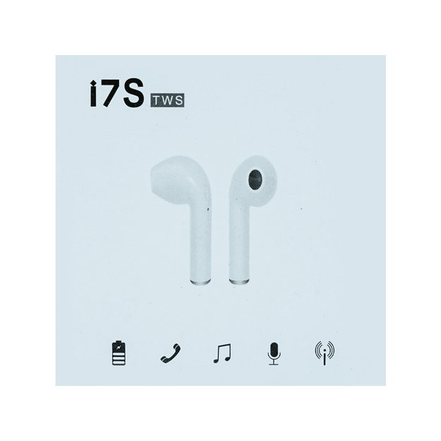 Product Detail - I7S BLUETOOTH HEADPHONE WHITE - image 0