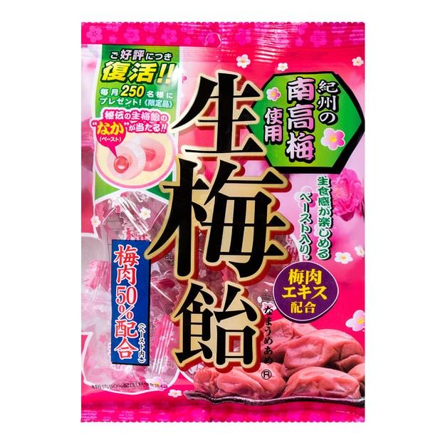 商品详情 - 日本RIBON 纪州南高梅生梅糖 110g - image  0