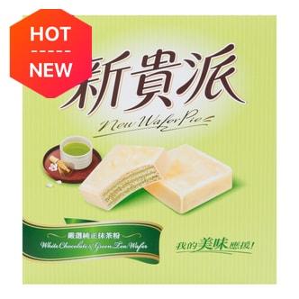 台湾77牌 新贵派 纯正抹茶白巧克力华夫派 225g