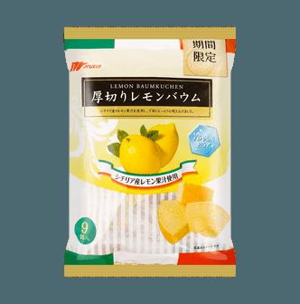 MARUKIN Baum Cake Lemon Flavor 9pc