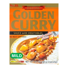 Golden Curry Sauce with Vegetables Mild 230g