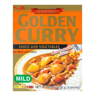 S&B Curry Golden Retort Mild 230g