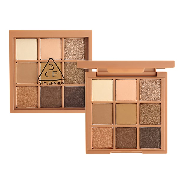 Product Detail - 3CE MOOD RECIPE Multi Eye Color Palette #Plot Twist 8.1g - image 0