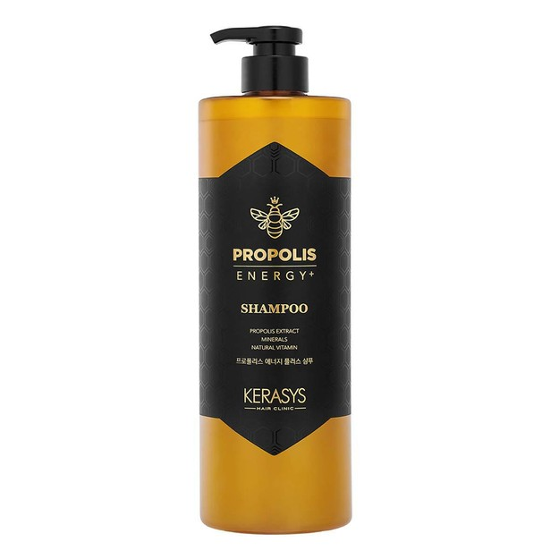Product Detail - KOREA AEKYUNG KERASYS Propolis Extract Minerals Natural Vitamin Shampoo 1000ml - image 0