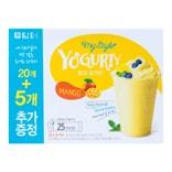 韩国DAMTUH丹特 冲饮型酸奶粉 芒果味 25条入 450g