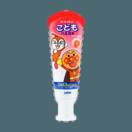 Japan Lion Kid's Toothpaste #Strawberry 40g