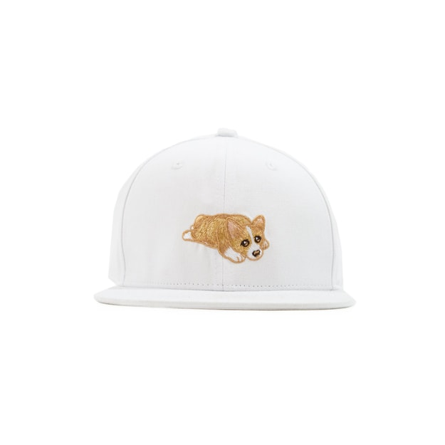 Product Detail - NAYOTHECORGI Corgi White Puppy Hat #Smoothie# - image 0