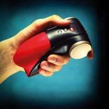 德国 Fun Factory 眼镜蛇科波拉二代 深喉快感震动夹吸电动飞机杯 #黑红色
