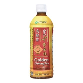 日本ITO EN伊藤园 无香料无糖黄金桂乌龙茶 500ml
