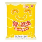 台湾乖乖 弯的脆果 炼乳味 52g 童年回忆
