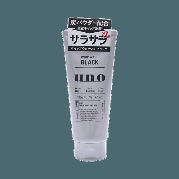 商品详情 - SHISEIDO 资生堂 UNO吾诺  黑炭清爽洗面奶  控油清爽型 130g - image  0