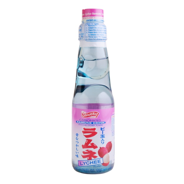 Product Detail - SHIRAKIKU Ramune Soda Lychee 200ml - image 0