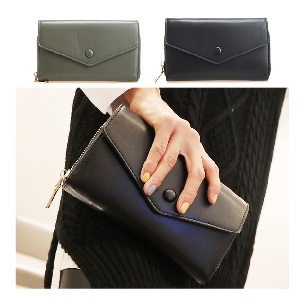 Product Detail - KOREA MAGZERO Crossbody and Clutch Mini Flap Bag Black [Free Shipping] - image 0