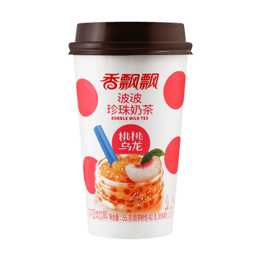 Peach Oolong Bubble Milk tea 55g
