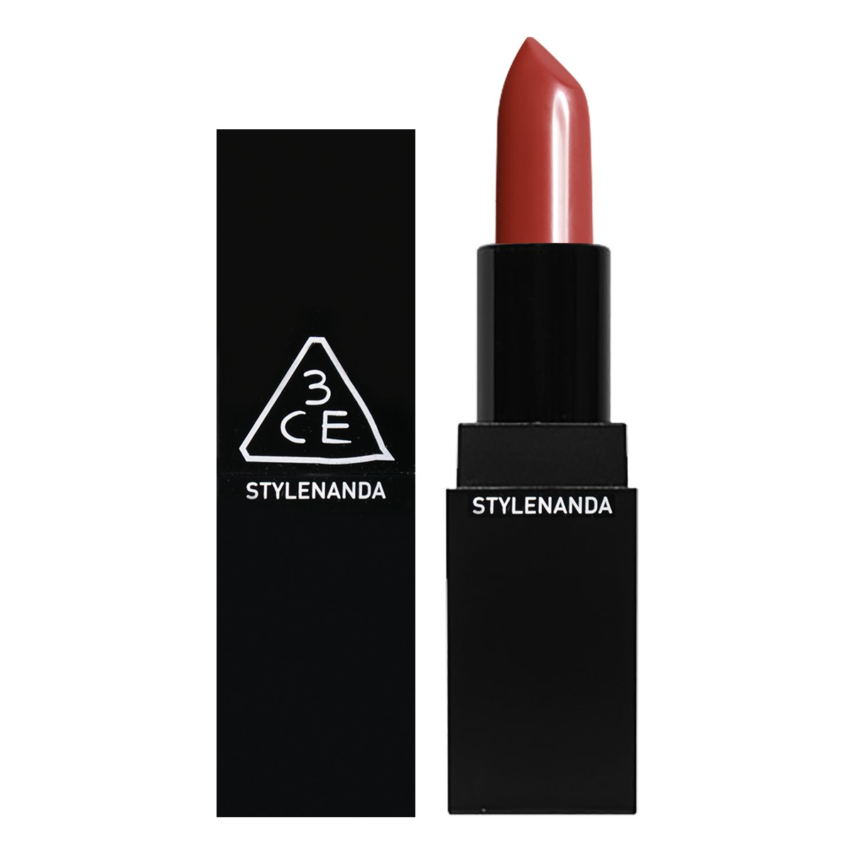 3CE Matte Lip Color #909 Smoked Rose 3.5g