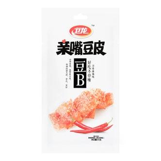 卫龙 亲嘴豆皮 川香麻辣味 65g 两种包装随机发