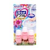 KOBAYASHI Bluelet Dekoraru Toilet Bowl Cleaner 22.5g x 3pcs