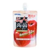 日本ORIHIRO 低卡纤体蒟蒻果冻 130g 苹果味