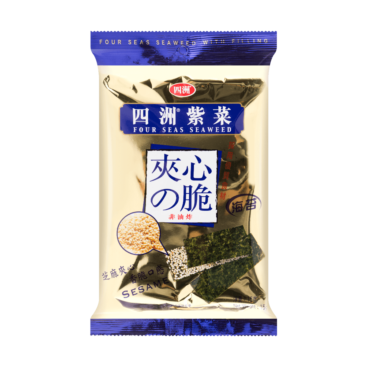 Yamibuy.com:Customer reviews:Seaweed with Filling Sesame 15g