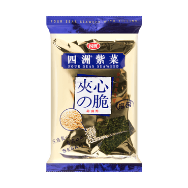 Four Seas Seaweed with Filling Sesame 15g