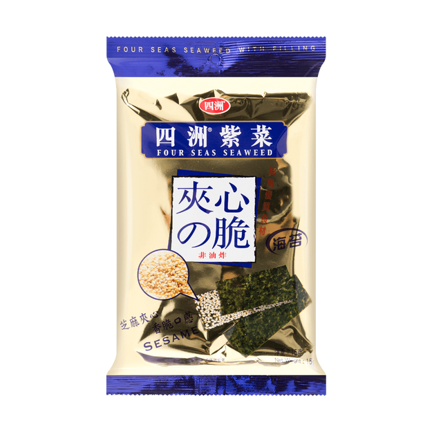Product Detail - Four Seas Seaweed with Filling Sesame 15g - image 0