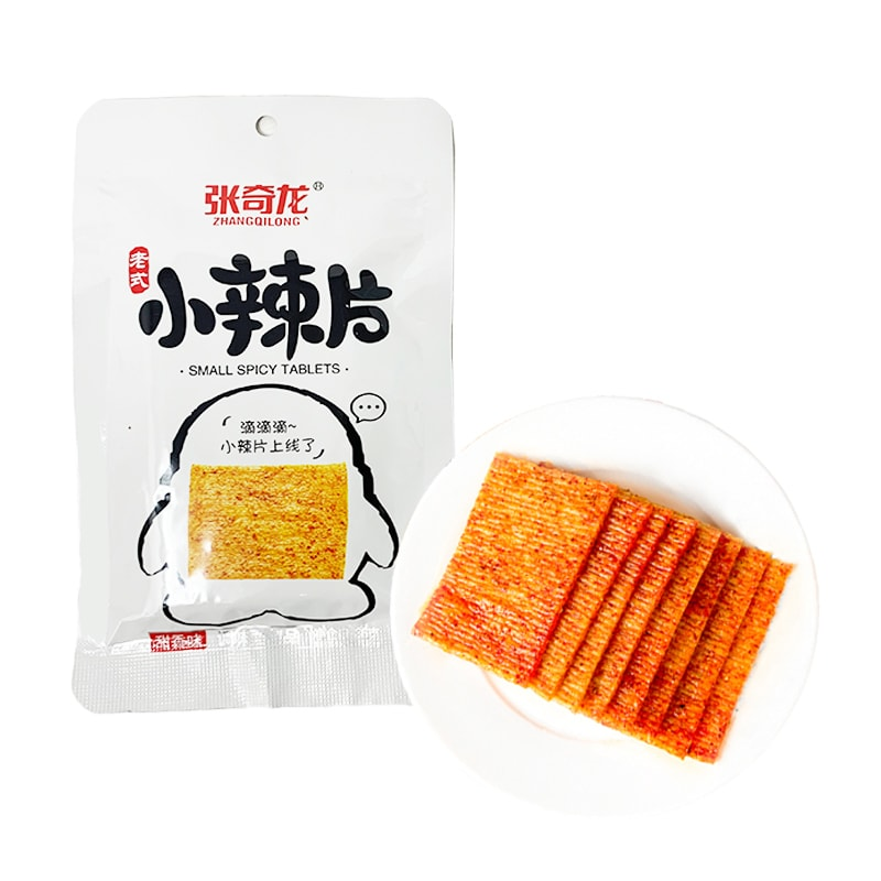 Yamibuy.com:Customer reviews:【Best Before 20201223】ZHANGQILONG Vintage Small Spicy Slices Sweet Flavor 36g