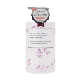 日本MERCURYDUO 植物氨基酸网红洗发水 柔顺款 高级香氛 小红书爆款 480ml